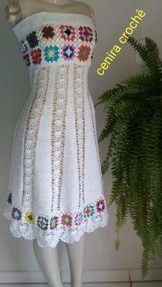 Desert Rose Dress White Crochet Lace Up Front Boho Mini Long Sleeve Mandalas Scallops Festival Fox Fits Small Medium Or Large Crochet Short Dresses, Crochet Beach Dress, Crochet Shirt, Crochet Clothes, Crochet Lace, Granny Square Häkelanleitung, Granny Square Crochet Pattern, Crochet Patterns, Crochet Woman