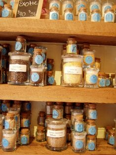 Ever heard of black truffle salt or sugar maple salt? They have these and other hard to find culinary salts at The Meadow.