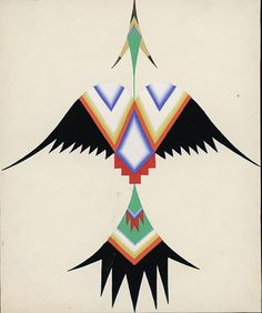 thunderbird Native Design, Native American Patterns, Native American Church, Native American Symbols, Native American Design, American Indian Art, Native American Indians, Native American Thunderbird, Thunderbird Tattoo