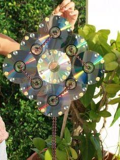 Conheça as mais belas referências de artesanato com CD da internet. Confira os vídeos com tutoriais e passo a passo.