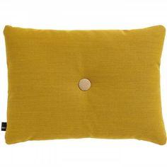 Via Femkeido | HAY Dot Cushion in Kvadrat Steelcut Golden Yellow