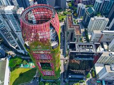 woha architects – Google Søgning Green Roof System, Ceramic Manufacturer, Greenery, Singapore, Times Square, Cottage, Nature, Travel, Architects