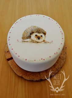 Hedgehog Love cake