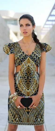 African print dress - Fashion and Love