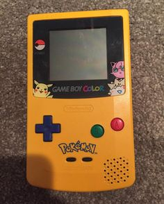 On instagram by gamerpeep07734 #gameboy #microhobbit (o) http://ift.tt/2ct2RPH find if the night I'm proud of: found a yellow Pokemon gameboy color for cheap! Yay!! #nintendo  color #pokemon #pikachu #togepi #jigglypuff #pokeball #videogame #videogames #videogamecollector #game #games #yellow. #collection