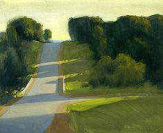 Coming into Priceville - Ian Roberts so simple and love the light