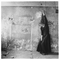 francesca woodman. her work is so haunting.