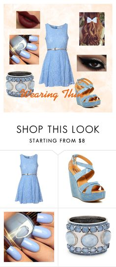 """""""Wearing Thin"""" by o-hugsandkisses-x ❤ liked on Polyvore featuring Glamorous, Kork-Ease and Chico's"""