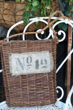 French numbered basket