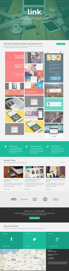 Link – Bootstrap 3 Agency Theme