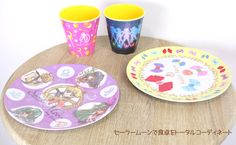 sailor moon plates