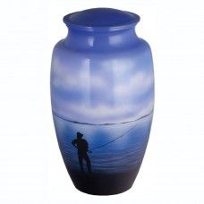 Gone Fishing Urn for Ashes