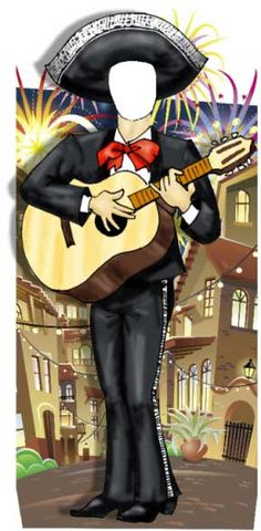 Fiesta Photo Op, Mariachi Male / Your guests will love being in a mariachi band  $87.95