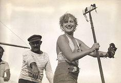 lee miller, côte d'azur, france, photograph by roland penrose, 1937