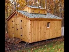 """Short video (2 min.) """"How to Build a Sugar Shack"""". DIY building plans are available for only $50.  Also available as prefab cabin kits or fully assembled buildings. https://www.youtube.com/watch?v=ILpzYumselg http://jamaicacottageshop.com/product-category/storage/homestead-farm/sugar-shack/"""