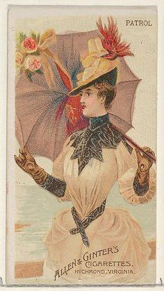 Parasol Drills series ~ 1888