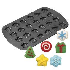Wilton Holiday Christmas Cookie Mold Pan 24Cavity *** Read more  at the image link. (This is an Amazon affiliate link and I receive a commission for the sales and I receive a commission for the sales)