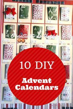 Ihania kalenteri ideoita!