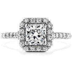 Platinum Acclaim Engagement ring with ideal cut round brilliant diamonds www.sartorhamann.com #RECF0429