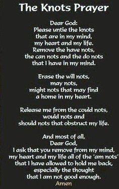 Knots Poem