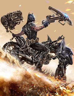 Batman: Zero Year - Mehdi Cheggour