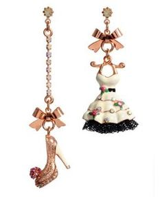 Betsey Johnson Shoes | Betsey Johnson Earrings, Dress and Shoe Drop review at Kaboodle