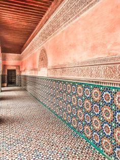 Ben Youssef Madrasa -Marrakech Morocco