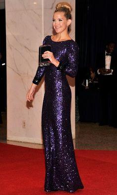 .. jenny packham purple sequin dress )))
