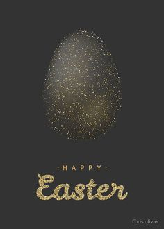 'golden glitter easter egg with lettering' by Chris olivier Framed Prints, Canvas Prints, Art Prints, Golden Glitter, Dresses With Leggings, Wall Tapestry, Decorative Throw Pillows, Art Boards, Easter Eggs