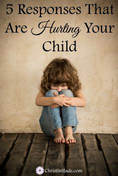 Do you respond to your child in a way that hurts them? Whether it's to request, correct, direct, or instruct, how do they perceive you? We are all susceptible to these behaviors and in the long run, they can hurt our relationship with our children. Raising our children includes our behaviors as much as theirs.