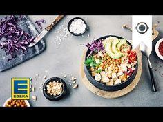 Buddha-Bowl I Rezept mit buntem Gemüse, Quinoa & Tofu I EDEKA - YouTube