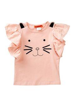 Paulinie Cat Flutter Sleeve Top by Paulinie on @HauteLook