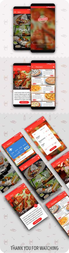 Delivery food app on Behance                                                                                                                                                                                 More