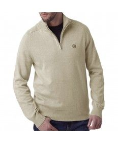 Mens Henri Lloyd Moray Sand Marl Half Zip Jumper Shirt Jacket, Polo Shirt, T Shirt, Henri Lloyd, Ellesse, Jumper, Zip, Mens Tops, Jackets