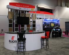 Custom booth for Elliot Aviation @ NBAA 2013 Las Vegas via Blazer Exhibits Las Vegas, Aviation, Blazer, Last Vegas, Air Ride, Blazers, Sports Jacket, Aircraft