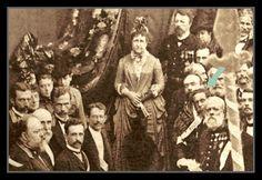 A rara foto de Machado de Assis ao lado da Princesa Isabel | Foto: Antônio Luiz Ferreira/IMS