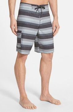 Jack O'Neill 'Resin Dos' Stripe Board Shorts available at #Nordstrom