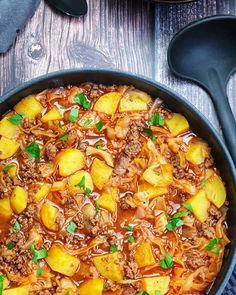 Tasty, Yummy Food, Low Carb Keto, Gnocchi, Healthy Drinks, Paella, Ground Beef, Meal Planning, Curry