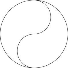 Design Similar to Yin Yang Symbol Mandala Painting, Pebble Painting, Dot Painting, Stained Glass Patterns, Mosaic Patterns, Ying Yang, Dot Day, Shrink Art, Tattoo Stencils