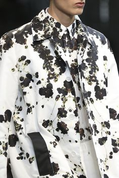 floral splatter - Givenchy #photographicfloral #florals