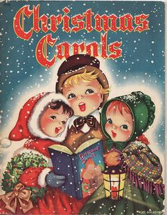 love these old carol books