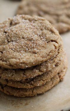 Browned butter dark brown sugar cookies