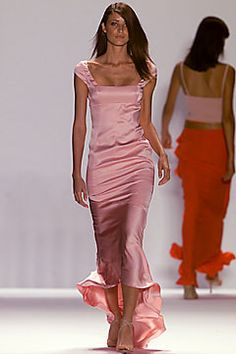 Carolina Herrera makes the most beautiful dresses. Simply gorgeous. Sincerely, JoAnne Craft