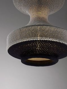 HANNA ......textile knitted lamps by Naomi Paul.......love them all !!