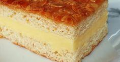 Recette de Bienenstich, un gâteauaux amandes allemand - [node:vocab:3:term] - utile.fr