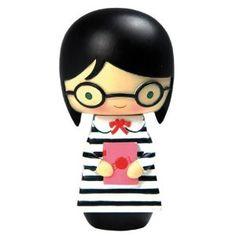 Kokeshi Nerd Doll