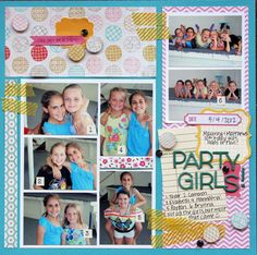 Kim_PartyGirls-love the different use of grids