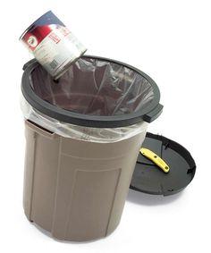 Garbage Bag Holder-Upper