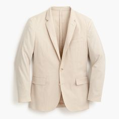 J.Crew - Ludlow unstructured suit jacket in stretch cotton