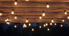 An Ideas About Patio & Lighting: Drape patio lights from pergolas #Summer #DIY